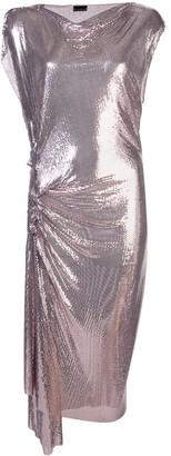 Paco Rabanne draped chainmail dress