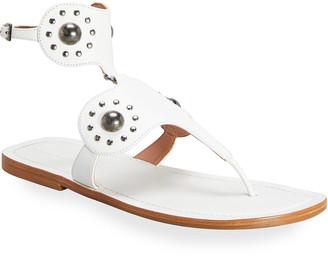 Alaia Edition 2007 Studded Calfskin Sandals