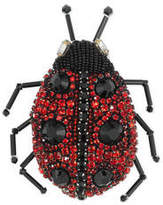 Gucci Ladybug brooch with crystals