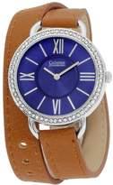 Catherine Malandrino Women's Brown Leather Band Quartz Watch Cbck2082s552-709