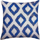 Found Object Ikat Square Pillow