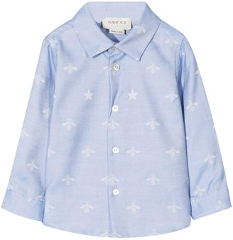 Gucci Baby Blue Shirt