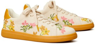 Tory Burch Howell Court Floral Sneaker