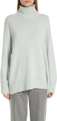Lafayette 148 New York Turtleneck Pullover Cashmere Tunic Sweater