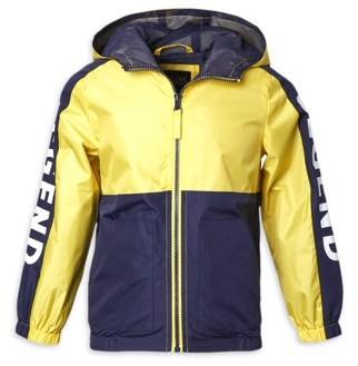 iXtreme Baby & Toddler Boys Colorblock Windbreaker Jacket (Size 12M-4T)