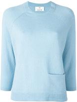 Allude cashmere pocket detail jumper - women - Cashmere - M