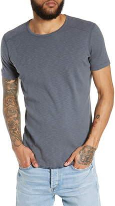 Wings + Horns Ribbed Slub Cotton Slim Fit T-Shirt
