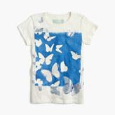 J.Crew Girls' glow-in-the-dark butterfly T-shirt