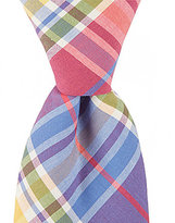 Roundtree & Yorke Trademark Plaid Slim Tie