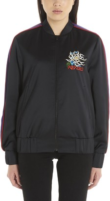 Kenzo Logo Embroidered Bomber Jacket