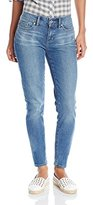 Yummie by Heather Thomson Women's Modern Mid Rise Slimming Skinny Denim Jeans