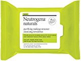 Neutrogena Naturals Purifying Makeup Remover Cleansing Towelettes 25 ea (Pack of 5)