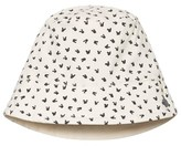 The Bonnie Mob Grey Bunny Print Printed Reversible Sun Hat