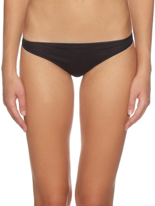Thumbnail for your product : Hanro Ultralight Thong - Black