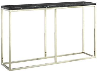 Palliser Furniture Palliser Furniture, Julien Console Table, Chrome Base, Black Marble To