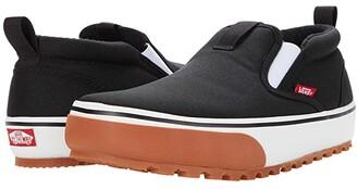 Vans Snow Lodge Slipper MTE Mid (Black/White) Athletic Shoes
