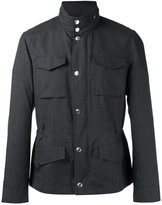 Brunello Cucinelli cargo pocket jacket - men - Nylon/Cupro/Wool - 50