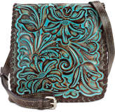 Patricia Nash Turquoise Tooled Granada Small Crossbody