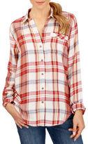 Lucky Brand Checkered Long Sleeve Shirt