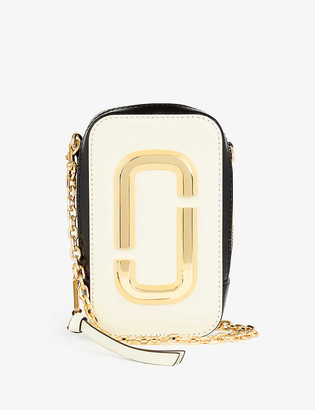 Marc Jacobs The Hot Shot leather cross-body bag