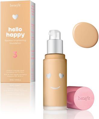 Benefit Cosmetics Hello Happy Flawless Brightening Foundation Spf15 30Ml 3 Light Neutral