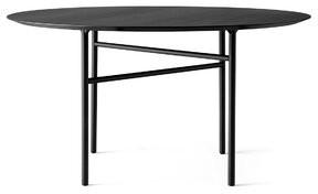 "Menu Snaregade Dining Table Size: 28.74"" H x 47"" W x 47.2"" D, Color: Black"