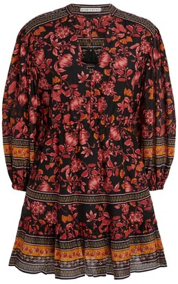 Alice + Olivia Sedona Floral Tunic Dress