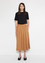 Lemaire Jersey Wrap Over Skirt
