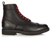 Givenchy Commando Leather Ankle Boots