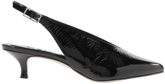Tibi Lia Patent-leather Slingback Pumps