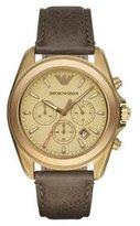 Emporio Armani Men's AR6071 Sport Brown Leather Watch