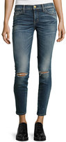 Current/Elliott The Stiletto Distressed Skinny Jeans, Division Destroy