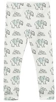 Tobias & The Bear White Pip the Polar Bear Leggings