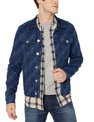 True Religion Men's Trucker Jacket SN Monogram