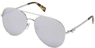 Marc Jacobs Marc Daisy 2/S (Palladium/Silver Mirror) Fashion Sunglasses