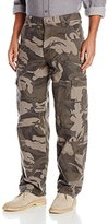 Wrangler Authentics Mens Fleece-Lined Cargo Pant
