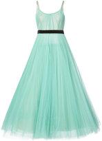 J. Mendel pleated ball gown - women - Nylon - 2