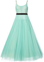 J. Mendel pleated ball gown