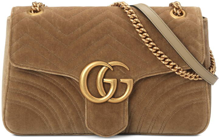 74b6a9fd2f1f Gucci Brown Chain Strap Shoulder Bags for Women - ShopStyle Canada