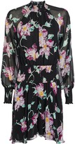 A.L.C. Hollis Floral Silk Mini Dress