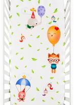 Balloon Party Crib Sheet