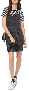 MICHAEL Michael Kors Studded Jersey Mini Dress