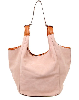 Old Trend Rose Valley Leather Hobo Bag