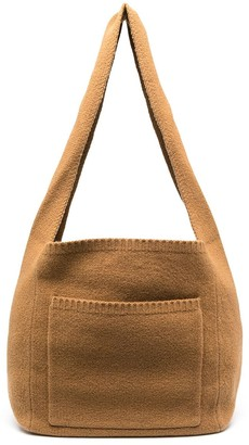 Joseph Knitted Construction Messenger Bag