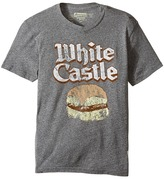 The Original Retro Brand Kids White Castle Tri-Blend Short Sleeve Tee (Big Kids)