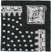 Saint Laurent printed neck scarf - women - Silk - One Size