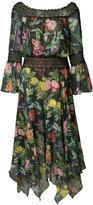 Tadashi Shoji floral print dress - women - Polyester - 8