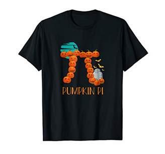 Pi Funny Halloween Pumpkin Math Pun T-shirt