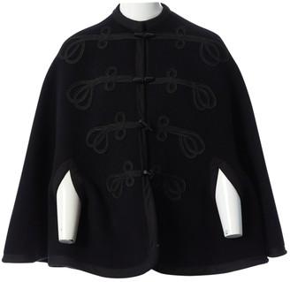 Ralph Lauren Black Wool Coats