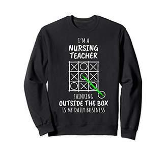 Funny Nursing Teacher Sweatshirt